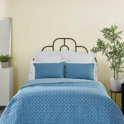Dreamscape Dsq01 Indigo King 3-piece Bed Set