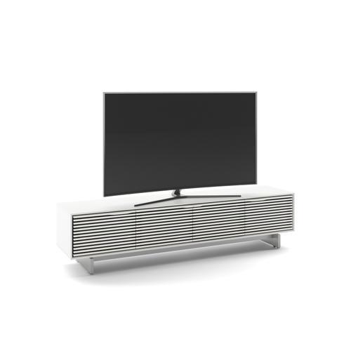 BDI Furniture - Align 7473 Media + Storage Console in Satin White Media Base