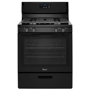 5.1 cu. ft. Freestanding Gas Range with Under-Oven Broiler -