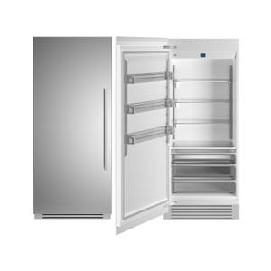 "Bertazzoni36"" Built-in Refrigerator column - Stainless - Left hinge"