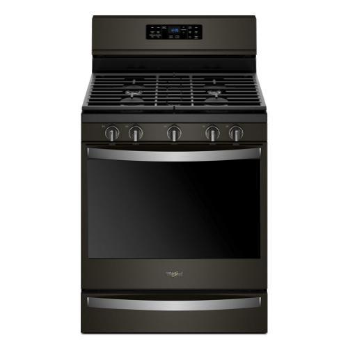 Whirlpool - 5.8 cu. ft. Freestanding Gas Range with Frozen Bake™ Technology
