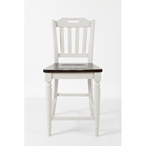 Orchard Park Slatback Counter Height Stool (2/ctn)