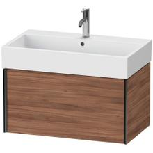 View Product - Vanity Unit Wall-mounted, Natural Walnut (decor)