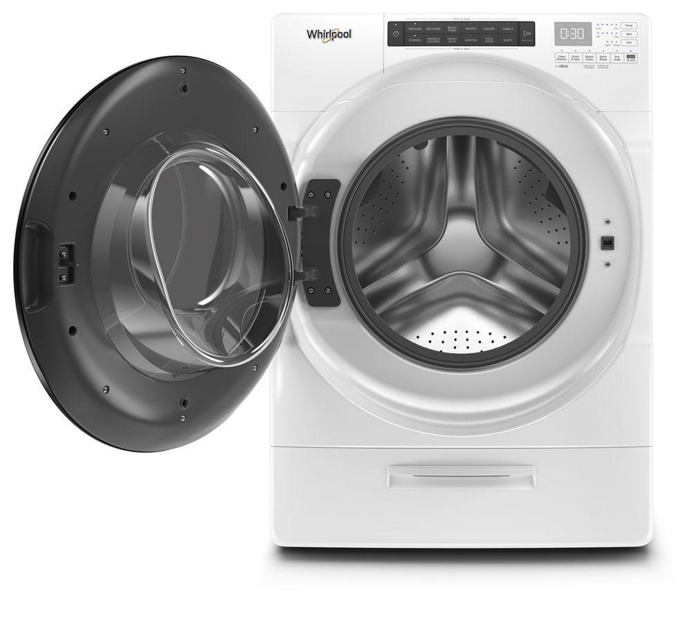 4.5 cu. ft. Closet-Depth Front Load Washer with Load & Go XL Dispenser Photo #2