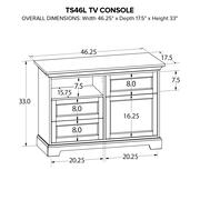 TS46L Custom TV Console Product Image