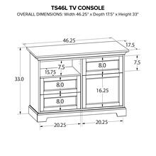 TS46L Custom TV Console