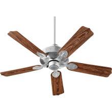 See Details - HUDSON 52-in Galvanized Indoor/Outdoor Ceiling Fan (5-Blade)