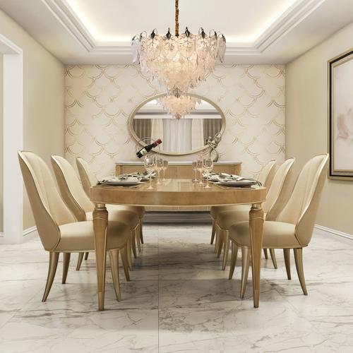 Villa Cherie Sideboard Mirror Chardonnay