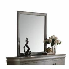 ACME Louis Philippe Mirror - 23864 - Antique Gray