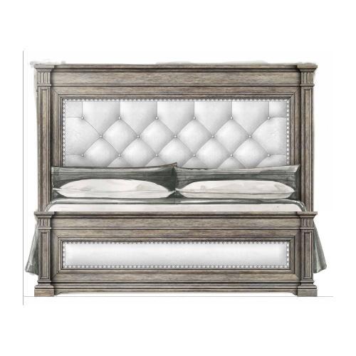 Portico Upholstered Bed - Drift / King
