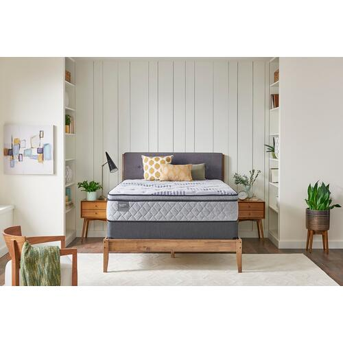 Palatial Crest - Heraldry - Plush - Pillow Top - Queen