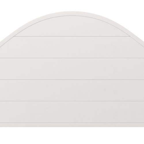 Product Image - Cumberland Queen Metal Canopy Bed, Brushed White