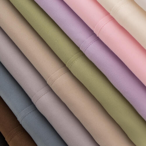 Brushed Microfiber Short Queen Ivory
