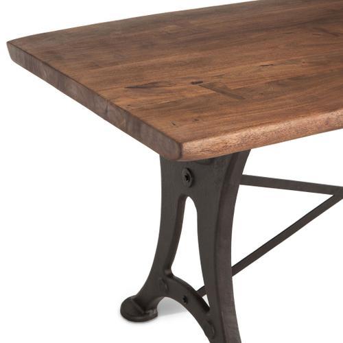 "Organic Forge 72"" Gathering Table Raw Walnut"