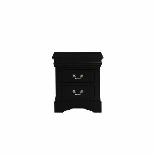 ACME Louis Philippe III Nightstand - 19503 - Black
