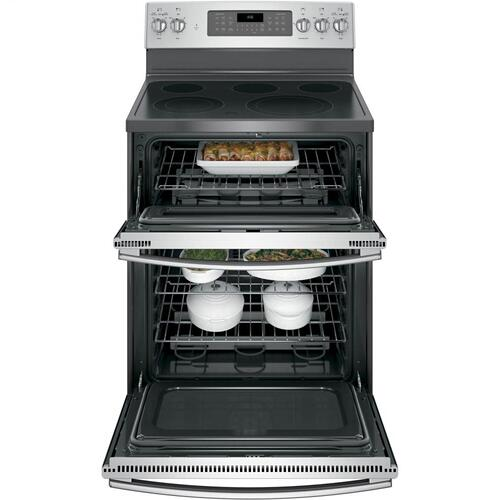 """Gallery - GE® 30"""" Free-Standing Electric Double Oven Convection Range"""