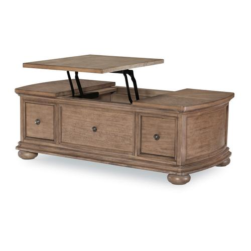 Camden Heights Cocktail Table w/Lift Top Storage