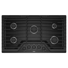 View Product - 36-inch Gas Cooktop with EZ-2-Lift™ Hinged Cast-Iron Grates Black