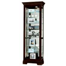 See Details - Howard Miller Saloman Curio Cabinet 680412