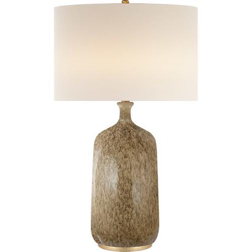 AERIN Culloden 33 inch 150 watt Marbleized Sienna Table Lamp Portable Light