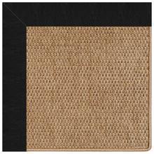 "View Product - Islamorada-Basketweave Classic Black - Rectangle - 24"" x 36"""