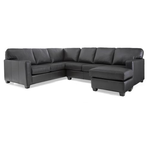 3541-22 RHF Sofa w/ chaise