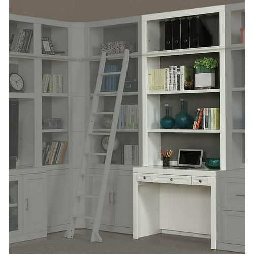 See Details - CATALINA Two piece 40 in. Library Desk and Hutch