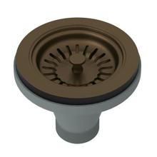 Manual Basket Strainer without Remote Pop-Up - English Bronze