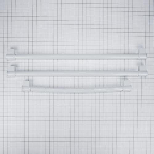 Maytag - French Door Refrigerator Handle Kit, White