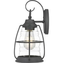 Admiral Outdoor Lantern in Mottled Black