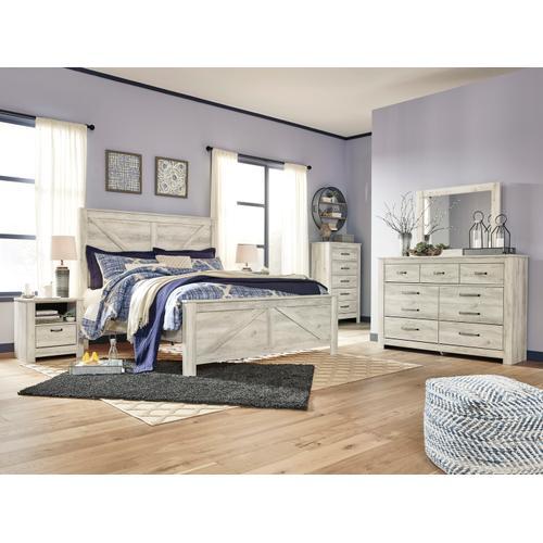 Bellaby Bedroom Mirror Whitewash