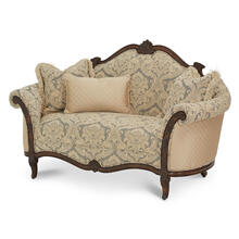 Wood Trim Settee - Grp1/opt1