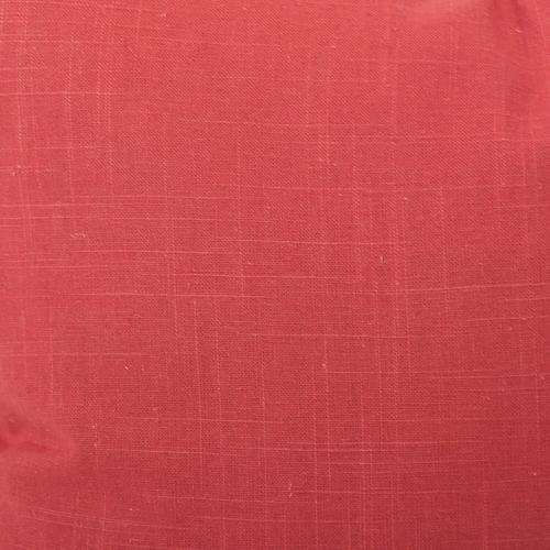 Howard Elliott - Scroll Puff Rocker Linen Slub Poppy Titanium Frame