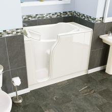 Gelcoat Entry Series 52x30-inch Walk-In Bathtub with Jet Massage System  American Standard - Biscuit