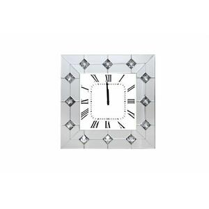 ACME Hessa Wall Clock - 97406 - Mirrored