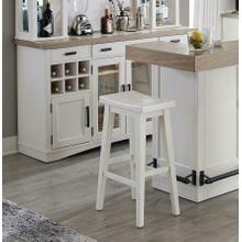 See Details - AMERICANA MODERN DINING Bar Stool 30 in.