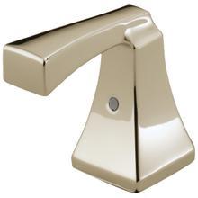 See Details - Polished Nickel Metal Lever Handle Set - 2H Bathroom