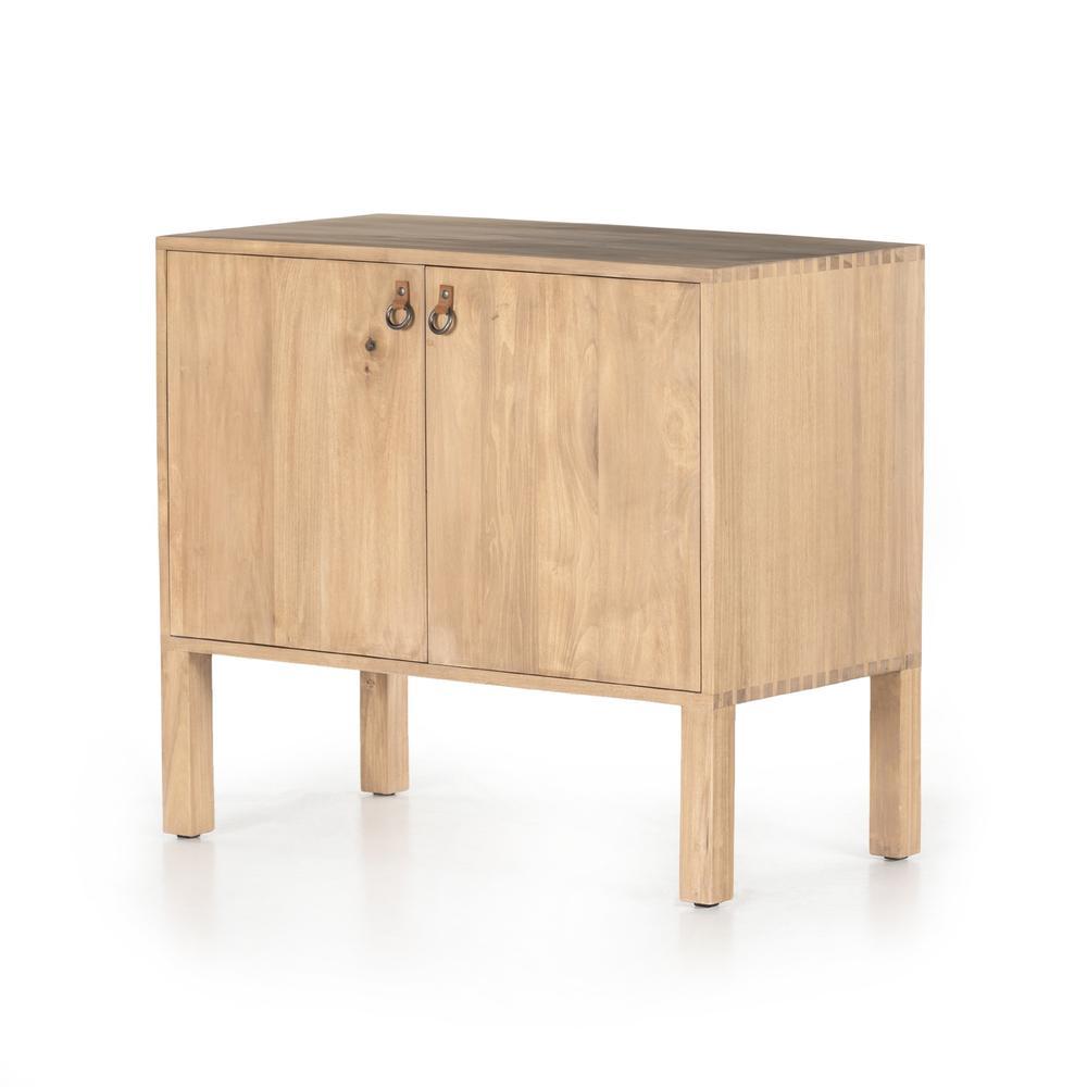 See Details - Isador Bar Cabinet-dry Wash Poplar