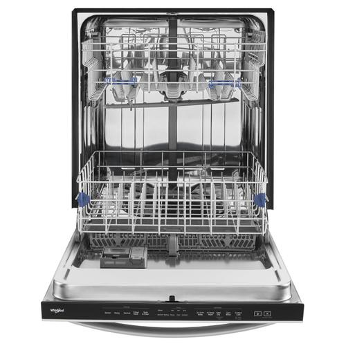 Stainless Steel Tub Dishwasher with TotalCoverage Spray Arm Fingerprint Resistant Stainless Steel