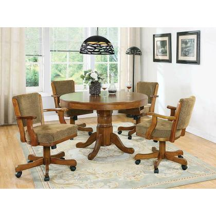 See Details - Mitchell Traditional Oak Game Table