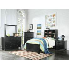 ACME Mallowsea Twin Bed - 30380T - Black
