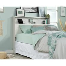 See Details - White Full/Queen Headboard with Storage