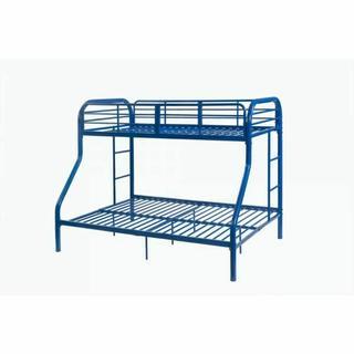 ACME Tritan Twin/Full Bunk Bed - 02043BU - Blue