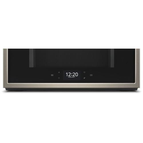 Whirlpool - 1.9 cu. ft. Smart Over-the-Range Microwave with Scan-to-Cook technology Fingerprint Resistant Sunset Bronze