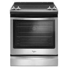 See Details - 6.4 Cu. Ft. Slide-In Electric Range with True Convection