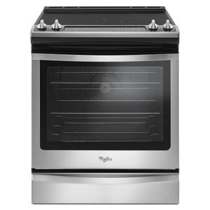 Whirlpool6.4 Cu. Ft. Slide-In Electric Range with True Convection