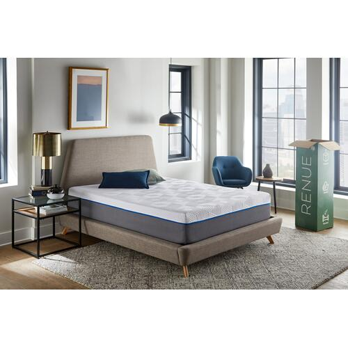 "Renue 10"" Medium Firm Memory Foam Mattress in Box, King"