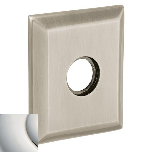 Baldwin - Polished Nickel with Lifetime Finish R033 Square Rose