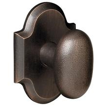 View Product - Distressed Oil-Rubbed Bronze 5024 Oval Knob