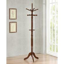 Traditional Cappuccino Coat Rack
